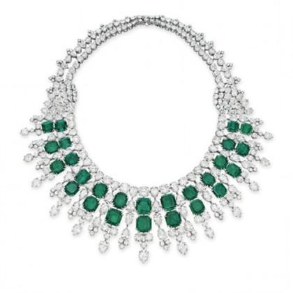 Harry_Winston_Emerald_Diamond_Necklace