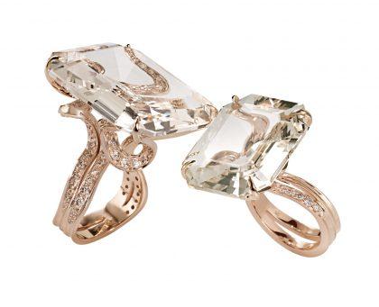 aneis-de-ouro-amarelo-e-rose-com-diamantes-e-topazios