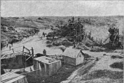 kopalnia Kimberley 1873r.