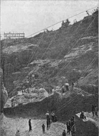 kopalnia Kimberley 1874r.
