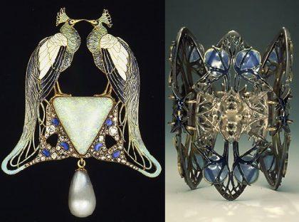 Peacock-brooch